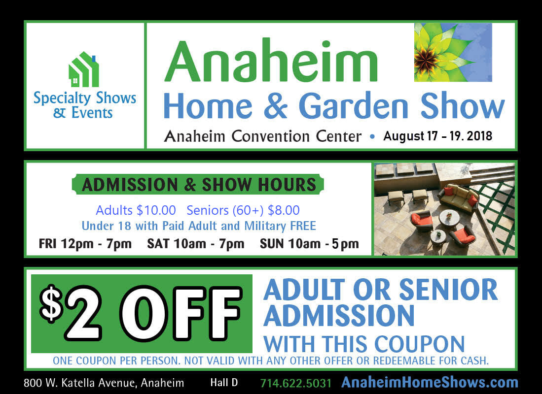 Superieur Anaheim Home Shows